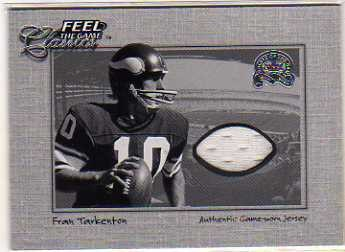 2000 Greats of the Game Feel The Game Classics #20 Fran Tarkenton