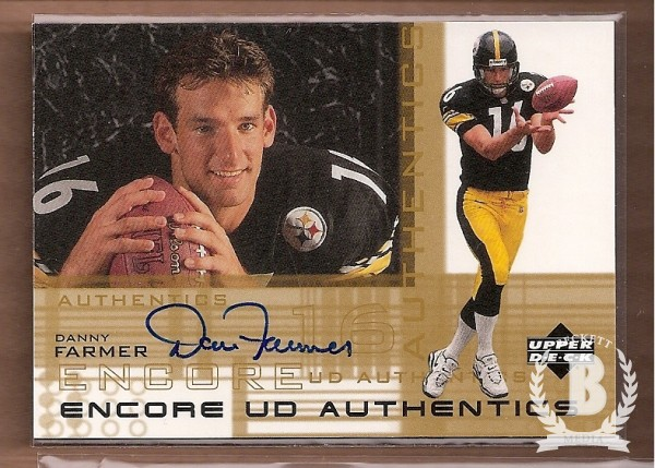 2000 Upper Deck Encore UD Authentics #DF Danny Farmer