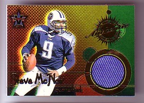 2000 Vanguard Game Worn Jerseys #14 Steve McNair