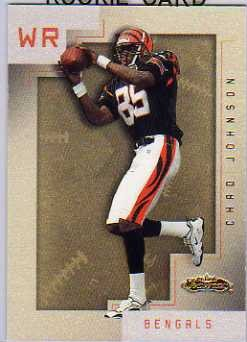 2001 Fleer Showcase #135 Chad Johnson RC