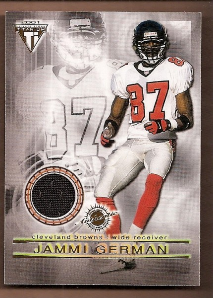 2001 Titanium Double Sided Jerseys #43 Jammi German/Shawn Jefferson