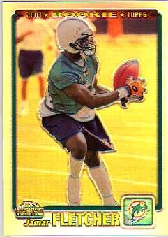 2001 Topps Chrome #231 Jamar Fletcher RC