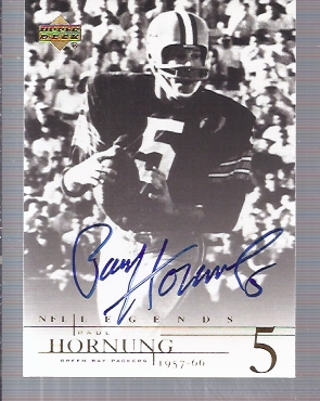 2001 Upper Deck Legends Autographs #PH Paul Hornung