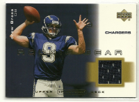 2001 Upper Deck Ovation Rookie Gear #RDB Drew Brees