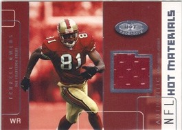 2002 Hot Prospects Hot Materials #HMTO Terrell Owens