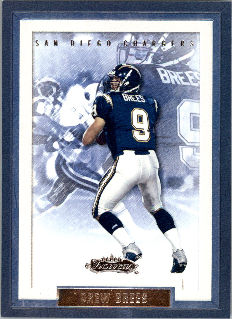 2002 Fleer Showcase #31 Drew Brees