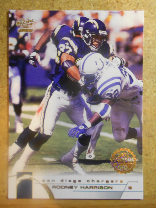 2002 Pacific Extreme LTD #370 Rodney Harrison
