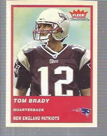 2004 Fleer Tradition #51 Tom Brady