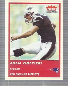 2004 Fleer Tradition #78 Adam Vinatieri