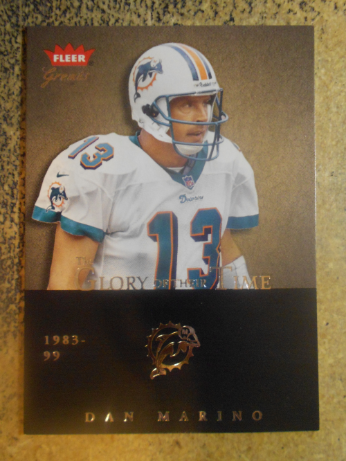 2004 Greats of the Game Glory of Their Time #GOT7 Dan Marino/1984