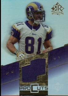 2004 Reflections Pro Cuts Jerseys Gold #PCTH Torry Holt