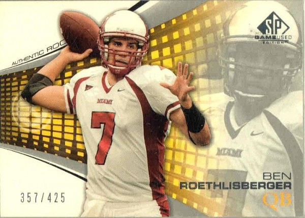 2004 SP Game Used Edition #171 Ben Roethlisberger RC