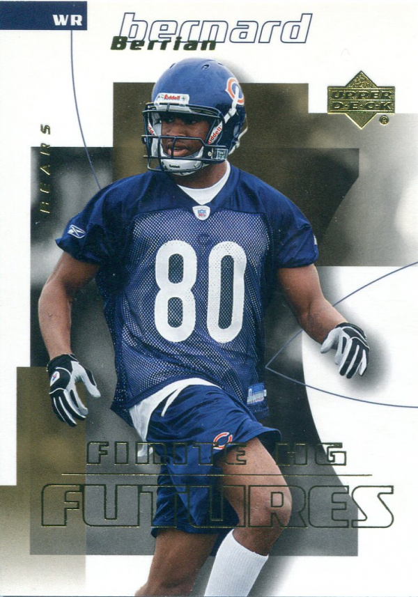 2004 Upper Deck Finite HG #258 Bernard Berrian RC