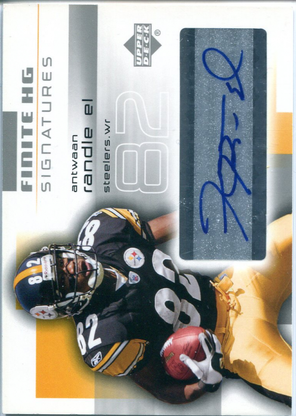 2004 Upper Deck Finite HG Signatures #FSAR Antwaan Randle El