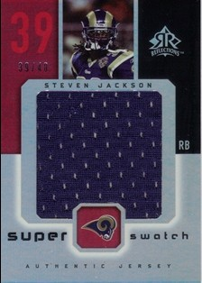 2005 Reflections Super Swatch #SSSJ Steven Jackson