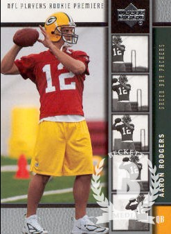 2005 Upper Deck Rookie Premiere #16 Aaron Rodgers