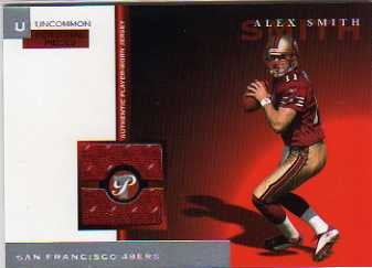 2005 Topps Pristine Personal Pieces Uncommon #PPUAS Alex Smith QB