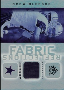 2005 Reflections Fabrics #FRDB Drew Bledsoe