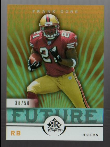 2005 Reflections Gold #243 Frank Gore