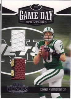 2005 Playoff Honors Game Day Souvenirs #GD3 Chad Pennington