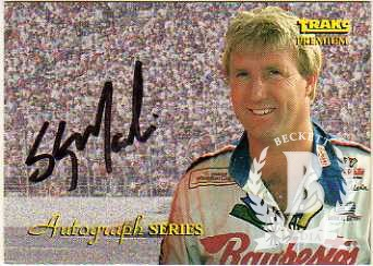 1994 Traks Autographs #A7 Sterling Marlin