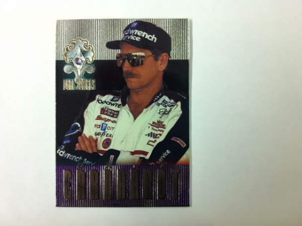 1996 Crown Jewels Elite Dual Jewels Amethyst #DJ1 D.Earnhardt/J.Gordon