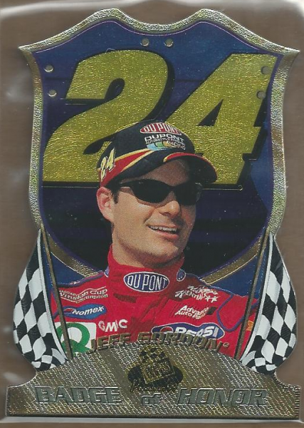 1999 Press Pass Premium Badge of Honor #BH10 Jeff Gordon