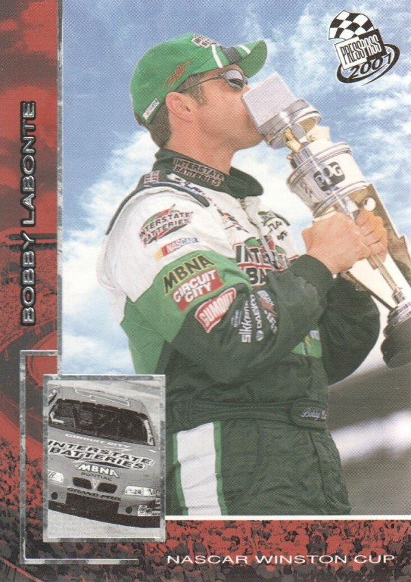 2001 Press Pass #P1 Bobby Labonte Promo
