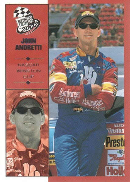 2002 Press Pass #1 John Andretti