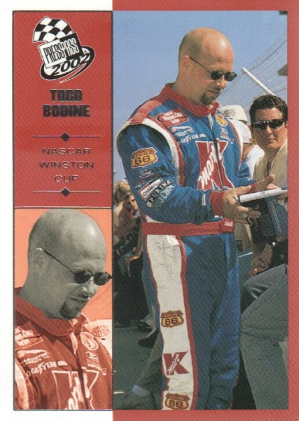 2002 Press Pass #4 Todd Bodine