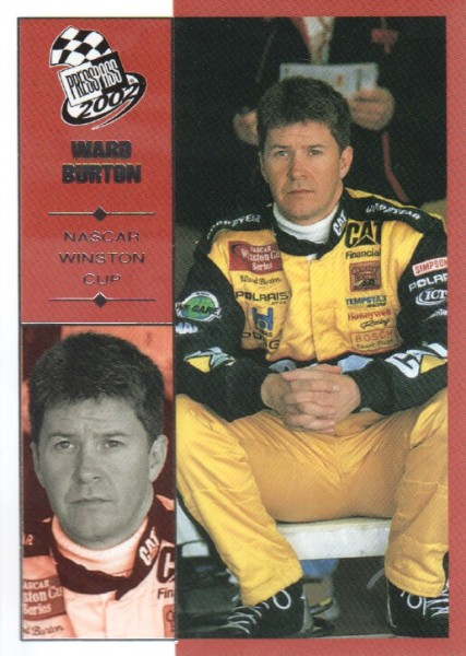 2002 Press Pass #5 Ward Burton