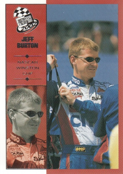2002 Press Pass #6 Jeff Burton