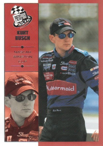 2002 Press Pass #7 Kurt Busch