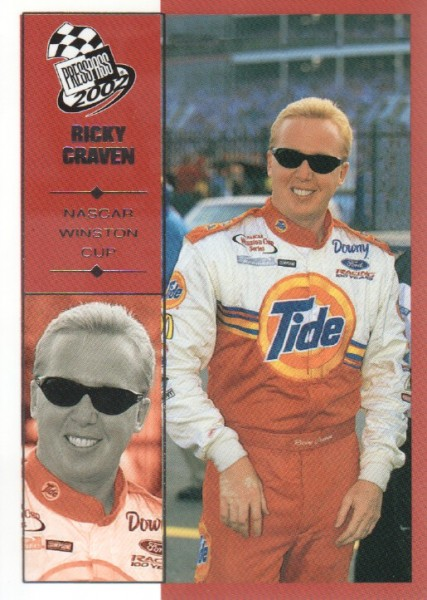 2002 Press Pass #9 Ricky Craven