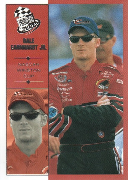 2002 Press Pass #10 Dale Earnhardt Jr.