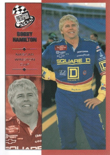 2002 Press Pass #12 Bobby Hamilton