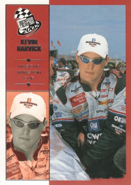 2002 Press Pass #13 Kevin Harvick