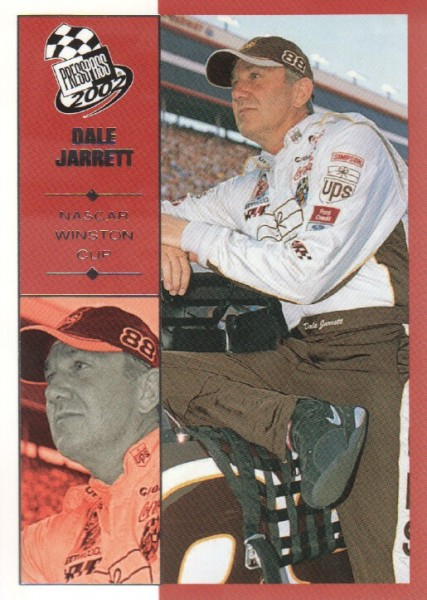 2002 Press Pass #15 Dale Jarrett