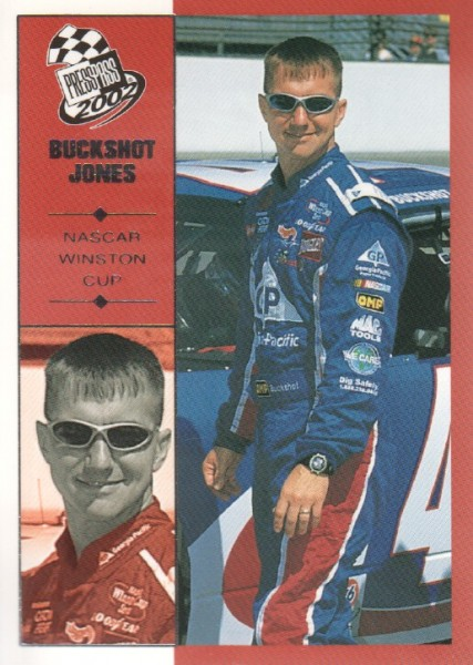 2002 Press Pass #16 Buckshot Jones