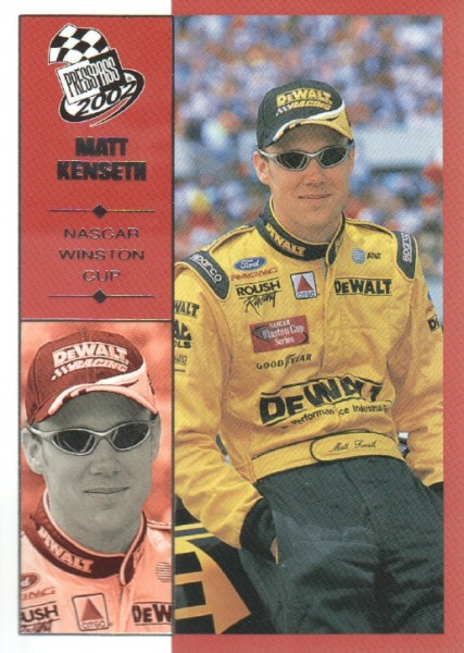2002 Press Pass #17 Matt Kenseth