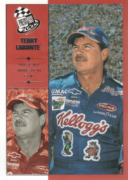 2002 Press Pass #19 Terry Labonte