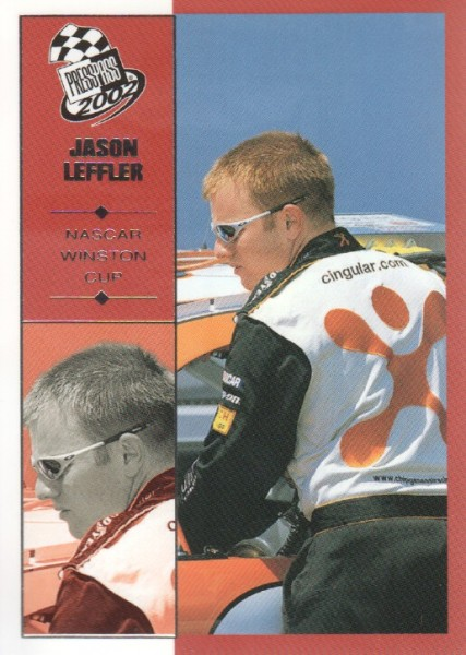 2002 Press Pass #20 Jason Leffler