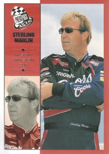 2002 Press Pass #21 Sterling Marlin