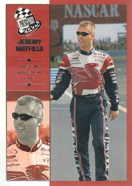 2002 Press Pass #23 Jeremy Mayfield