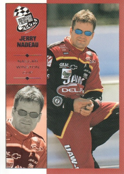 2002 Press Pass #24 Jerry Nadeau