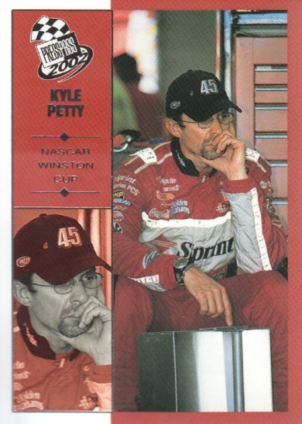 2002 Press Pass #28 Kyle Petty