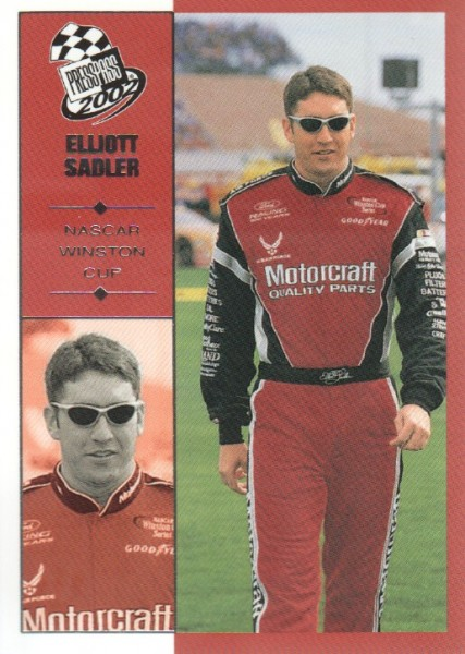 2002 Press Pass #30 Elliott Sadler