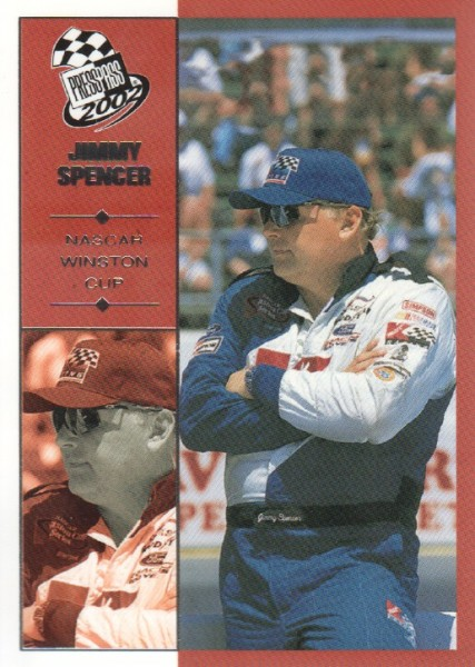 2002 Press Pass #33 Jimmy Spencer