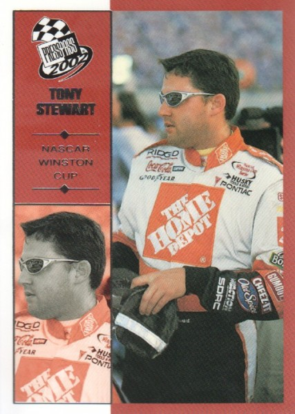 2002 Press Pass #34 Tony Stewart