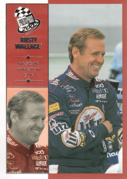 2002 Press Pass #35 Rusty Wallace